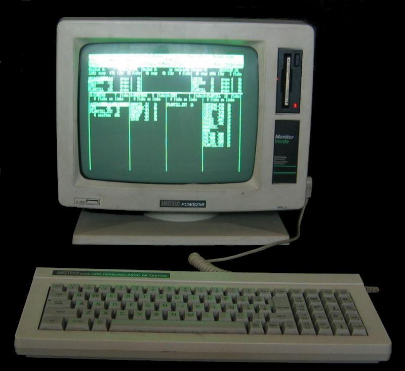 Amstrad PCW 8256 - ZONA DE PRUEBAS