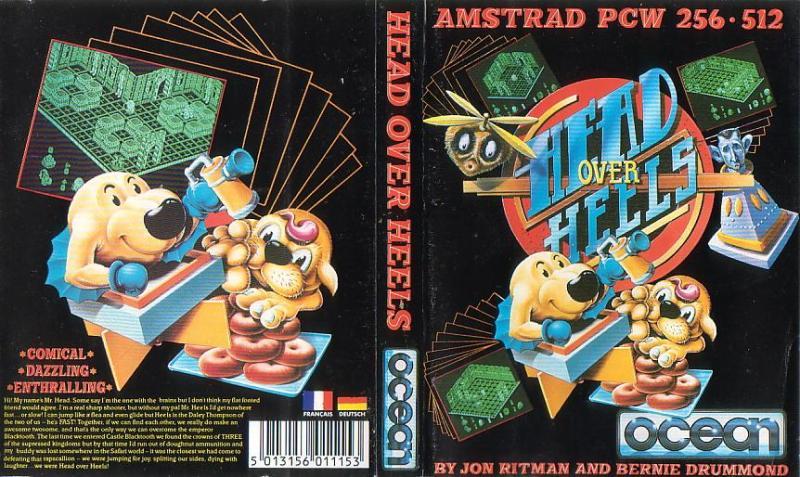 Head Over Heels (Amstrad PCW 8256) - ZONA DE PRUEBAS