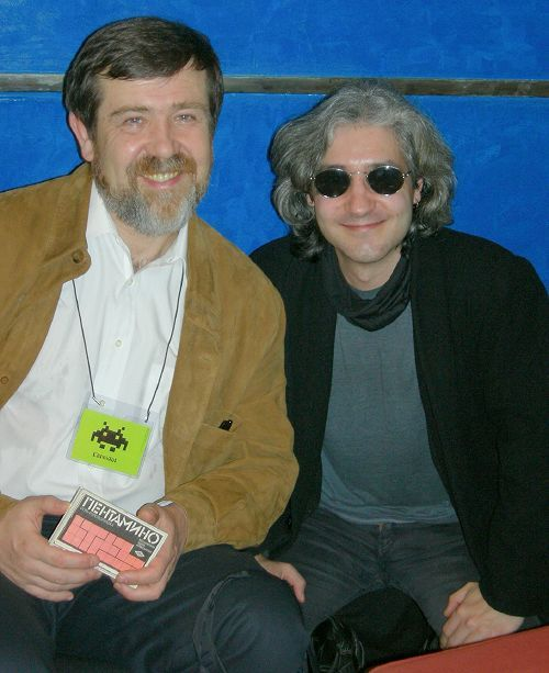 STAR con Alexey Pajitnov en FICOD 2009